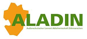 Logo Alladin (Außerschulischer Lernort Abfallwirtschaft Dithmarschen)