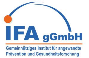 Logo IFA gGmbH (Gemeinnütziges Institut für angewandte Prävention und Gesundheitsforschung)